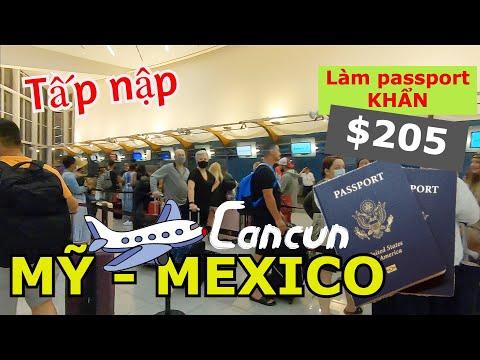 BAY TỪ MỸ ĐẾN MEXICO (CANCUN) DU LỊCH TRỌN GÓI SIÊU RẺ BẰNG PASSPORT MỸ KHẨN CẤP - HELLO ATLANTA