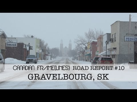 Road Report #10: Gravelbourg, Saskatchewan - YouTube