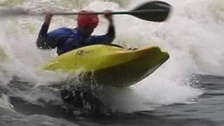 Родео-сборы в Лиексе. Май, 2010 (Freestyle kayaking in Lieksa, Neitikoski)