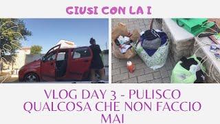 Vlogday2 - Pulisco qualcosa che non ho mai fatto