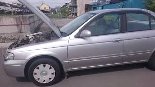 Видео-тест автомобиля Nissan Sunny (серебро, FB15-380678, QG15-DE, 2003г.)