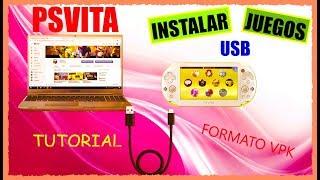 INSTALAR Juegos por USB EN PSVITA Tutorial formato .VPK