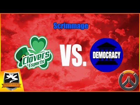 Clover Vs. Democracy Full Scrimmage (Overwatch Amino League Season 2)