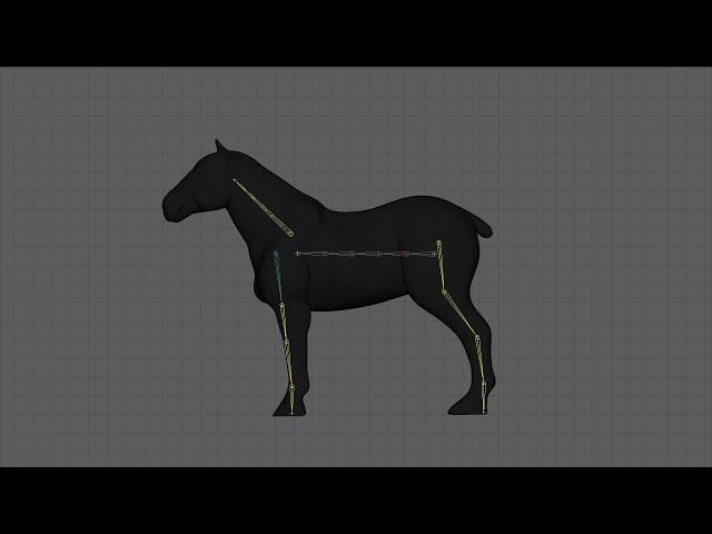 How to rig a horse with Rigger for Maya (Manually)
