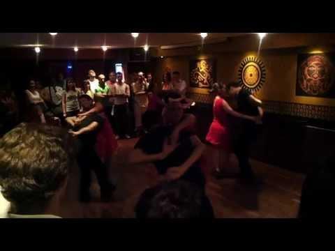 Représentation Salsa Cubaine confirmés Just Latino à l'Expresso Café Aix en Provence 2012