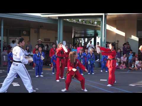 Taekwon Kids Demo Team - Fairmeadow Elementary School 2014