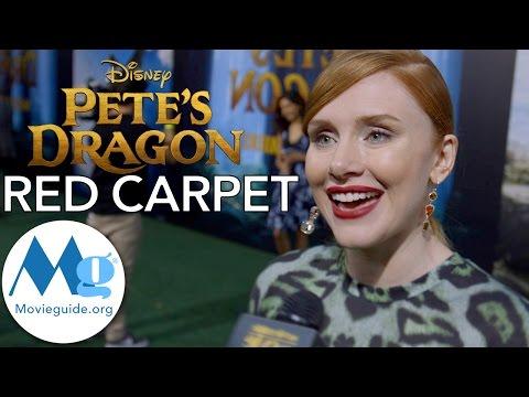 PETE'S DRAGON Premiere Interviews: Bryce Dallas Howard, Aaron Jackson, David Lowery