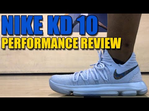 7df0f4ca5c889 NIKE KD X (10) PERFORMANCE TEST REVIEW - YouTube