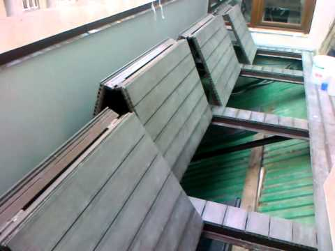 Раскладной пол балкона - youtube.