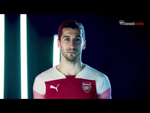 Arsenal's 2018/19 PUMA home kit | Behind the scenes
