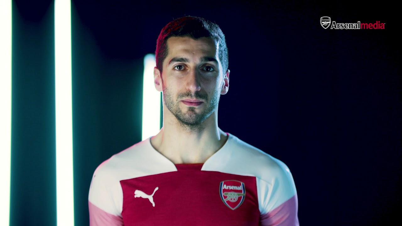 Arsenal s 2018 19 PUMA home kit  fdac42795
