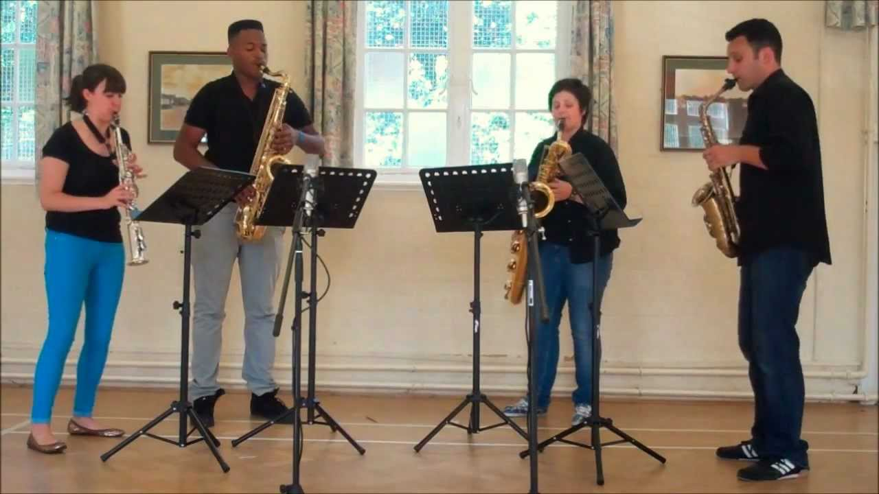 maple leaf rag sax quartet pdf