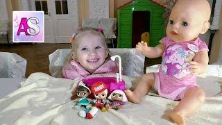 Беби бон не поместился в ванную к куколкам L.O.L. Surprise - Пупсики - Кукла ЛОЛ