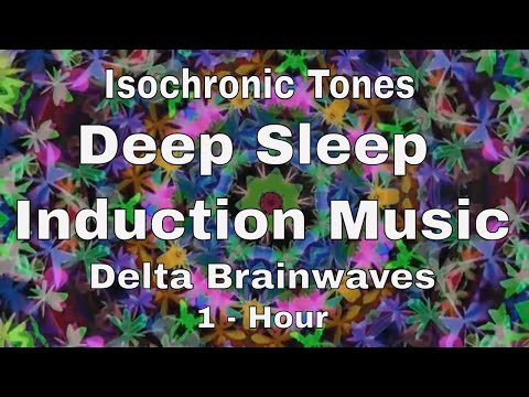 Isochronic Tones Deep Sleep Induction Music Delta Brainwaves (1 Hour)