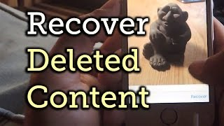 Recover Deleted Photos & Videos from Your iPhone & iPad - iOS 8 [How-To]