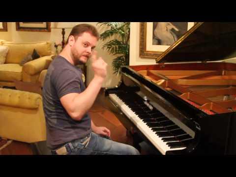 Toques do Iphone no piano - Iphone Ringtones on piano