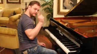 Toques do Iphone no piano - Iphone Ringtones on piano