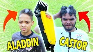 ALADDIN VS CASTOR (UM DELES VAI FICAR CAREQUINHA)