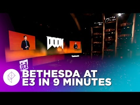 Everything from Bethesda's E3 2015 event in eight and a half minutes