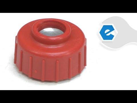 Homelite Trimmer Repair - Replacing the Spool Retainer (Homelite Part # 308042003)