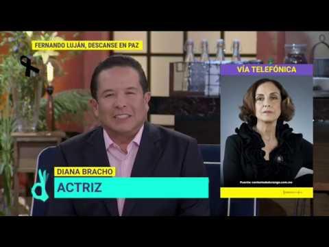 Así recuerda Diana Bracho a Fernando Luján | De Primera Mano