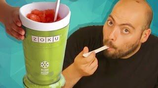 Evde Frozen İçecek (Karbuz) Nasıl Yapılır? - Kola, Şalgam, Meyve Suyu ile Yaptık