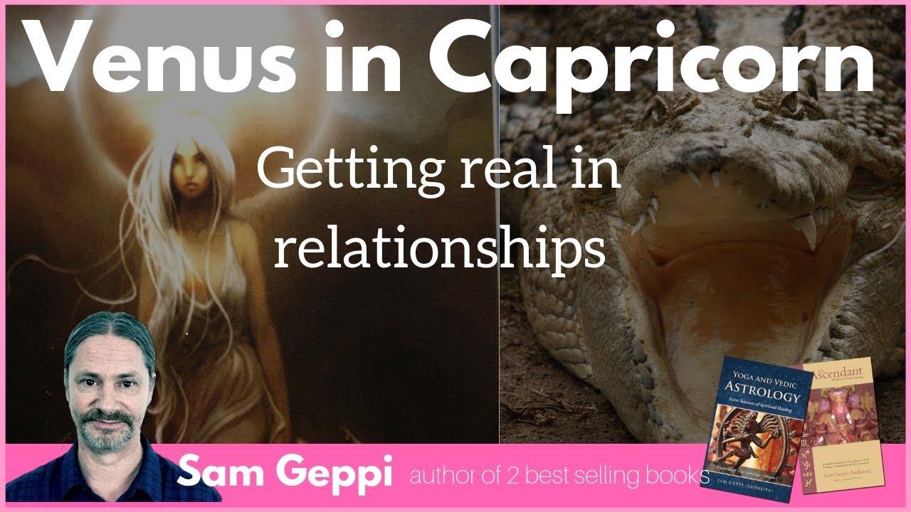 Venus in capricorn as per vedic astrology
