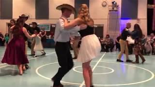 Urban Cowboy performance at 2018 SnowFall Ball