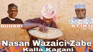 (Sabon Comedy) Nasan Wazaici Zabe A Nigeria, Inji Boka Malam Hudu