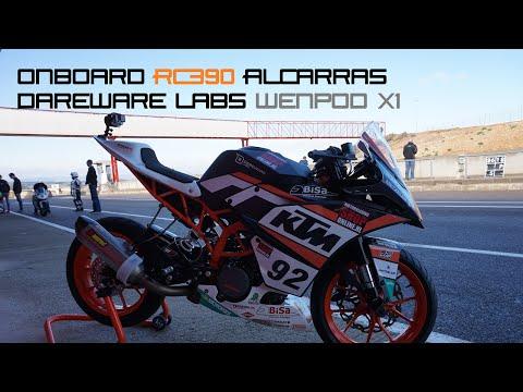 Onboard RC390 Circuit Alcarràs DarewareLabs Wenpod X1