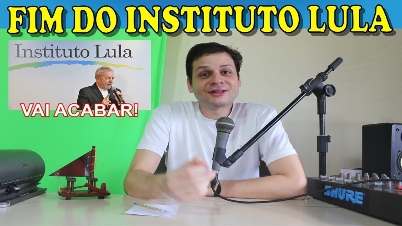 O instituto Lula vai fechar as portas! Fim da mamata!