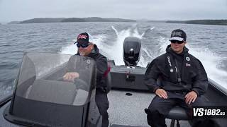 Ranger Aluminum VS1882SC On Water Footage