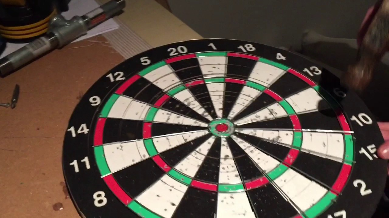 dart board vs duct tape ball youtube