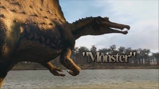 Spinosaurus - Monster