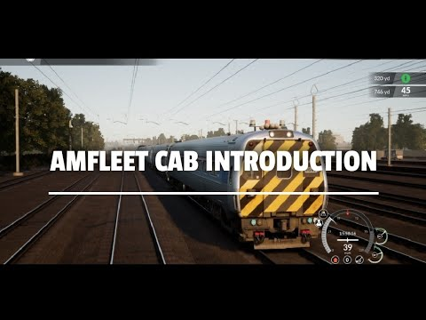 Amfleet Cab Introduction - Train Sim World 2020 |