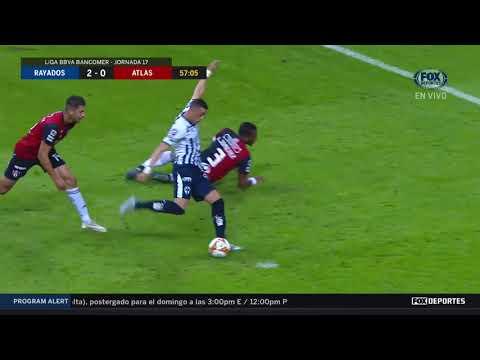 GOL:Rayados 2-0 Atlas
