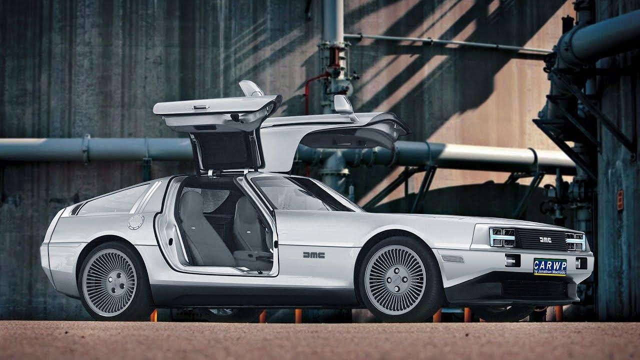 New Delorean 2020 RENDER New 2020 DMC DeLorean DMC 12 EV Electric Vehicle AWD 750 cv