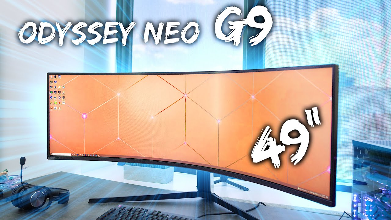 Download This is THE Ultimate Gaming Monitor - Samsung Odyssey Neo G9!
