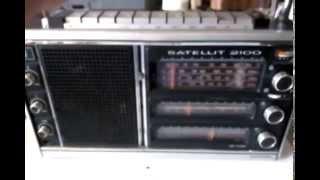 Test für Ebay : Transistorradio GRUNDIG SATELLIT 2100 Weltempfänger, Bj.1976-79