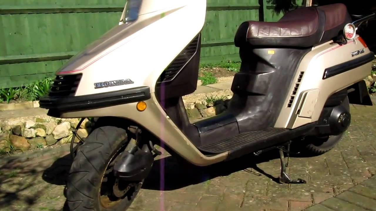 Honda Spacy 100 manual