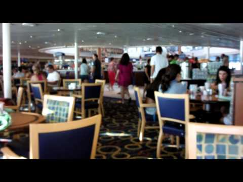Bahamas + Miami # 009 - Dia 3: Breakfast no cruzeiro