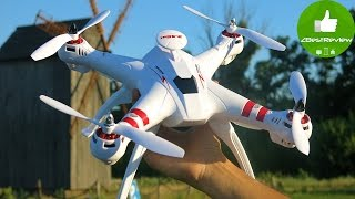 ✔ BAYANGTOYS X16 - Квадрокоптер на БК моторах за $109. Распаковка. Part 1 Banggood