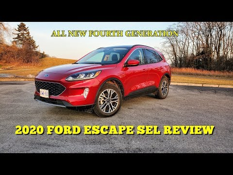 2020 Ford Escape - Review & Road Test from YouTube · Duration:  9 minutes 51 seconds