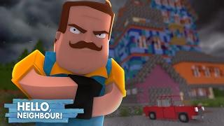 Minecraft: HELLO NEIGHBOR - A NOVA CASA DO VIZINHO!