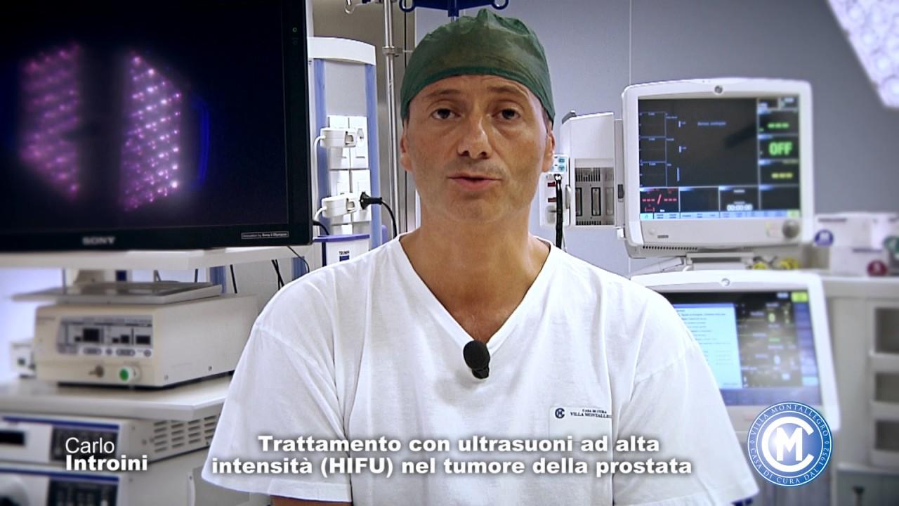 degenza asportazione tumore prostata