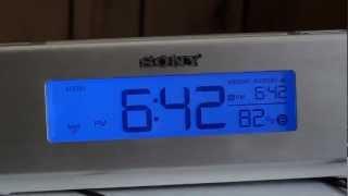 Review: SONY Dream Machine ICF-C717PJ Alarm Clock Radio