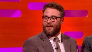 seth rogen on working with a real tiger on the interview the graham norton show episode 6