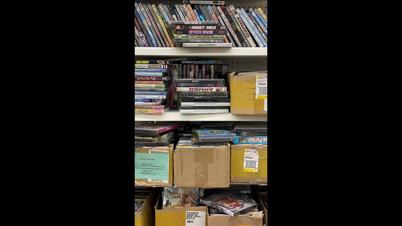 Download Dollar Tree BLU-RAY DVD Hunting July 2021 Over 60 Movies