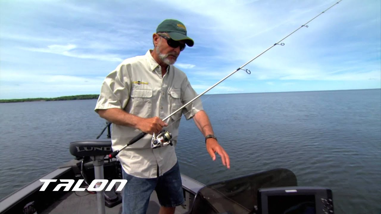 Al Lindner on Talon Shallow Water Anchors