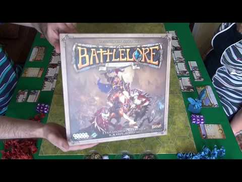 Battlelore (Вторая редакция) 1/2 часть -  играем в настольную игру